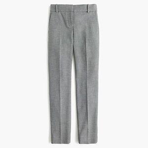 J. Crew Gray Cameron Slim Crop Pant